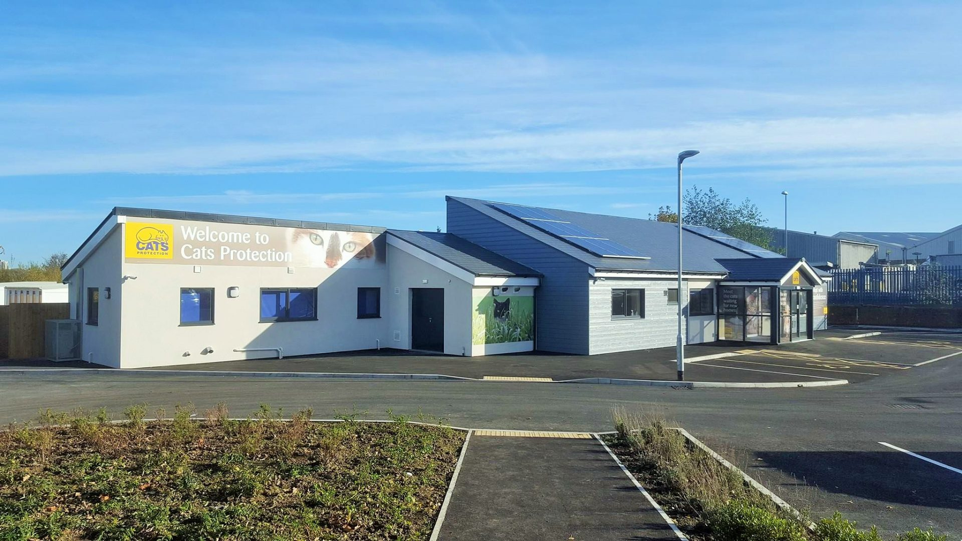 Puuuurfect Grand Opening For AKA's Recently Completed Cats Protection Project On Tyneside
