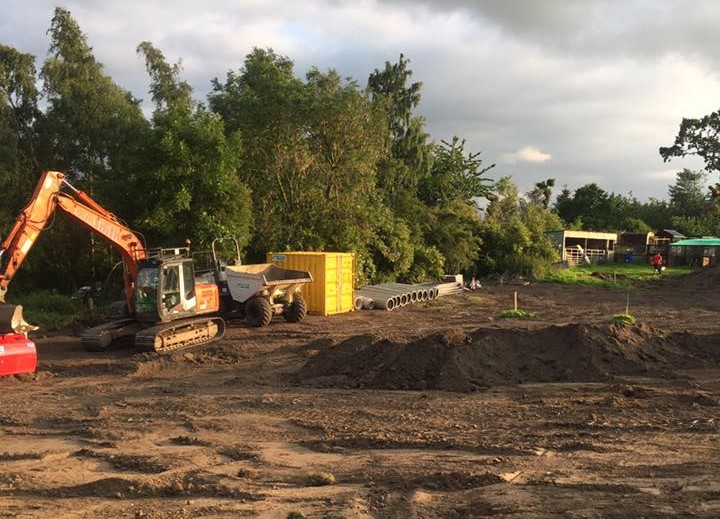 Jessica Sarcoma Charity Respite Lodges- Work Starts On Site